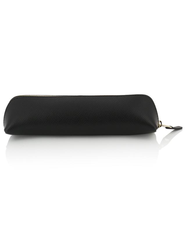 Panama textured leather pencil case SMYTHSON