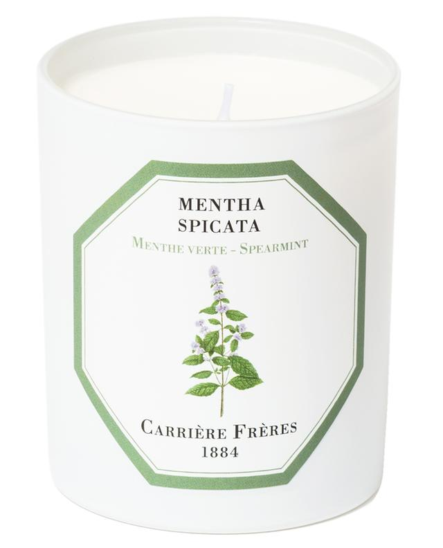 Spearmint scented candle CARRIERE FRERES