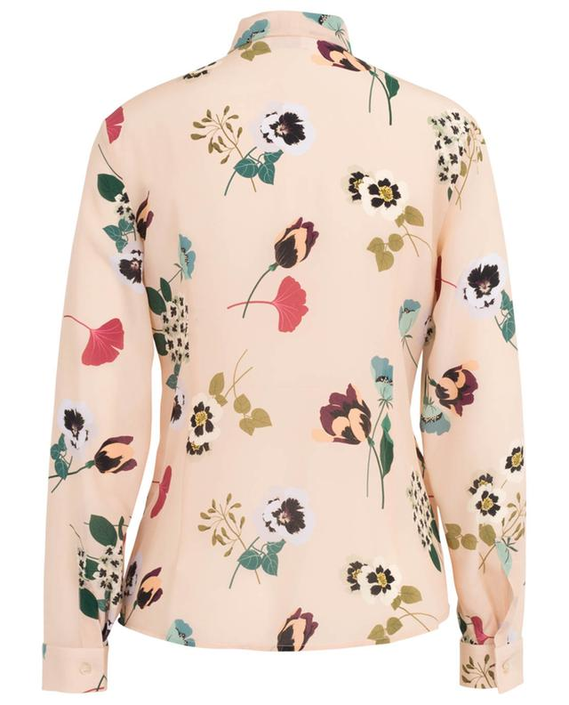 Chemise fleurie en soie Pansy RED VALENTINO
