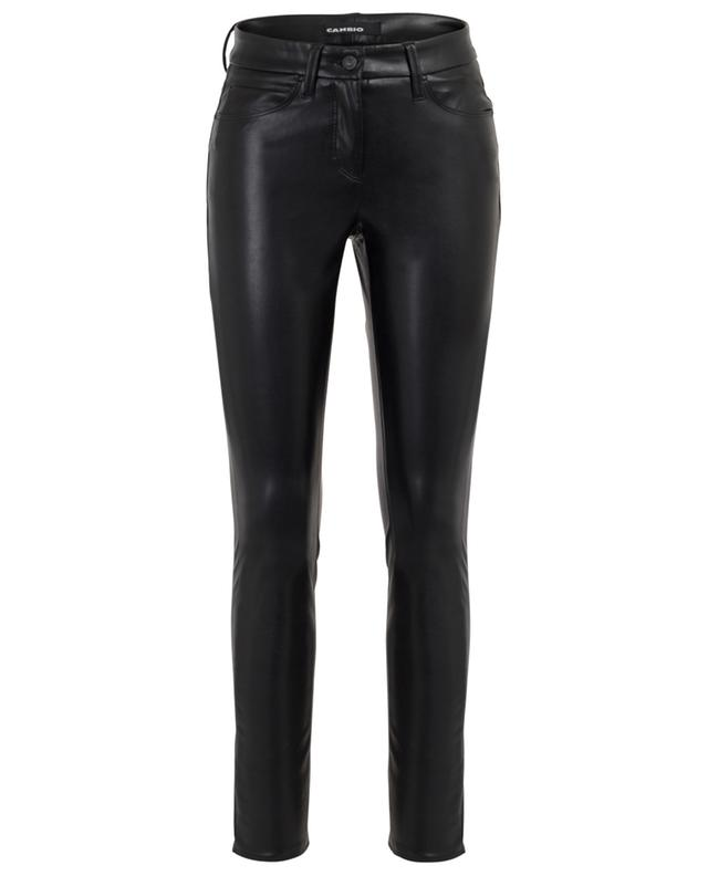 Ray 5-Pocket faux leather leggings CAMBIO