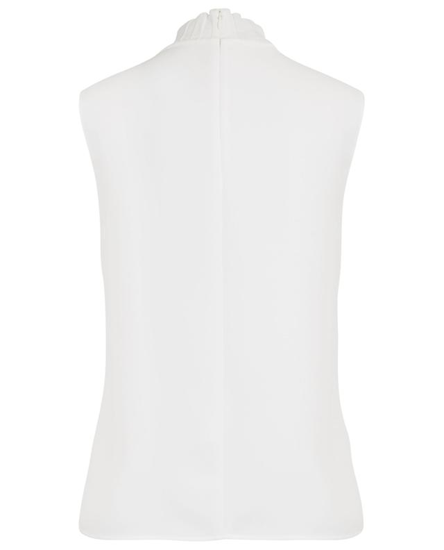 Sleeveless slim fit top with pleats VINCE