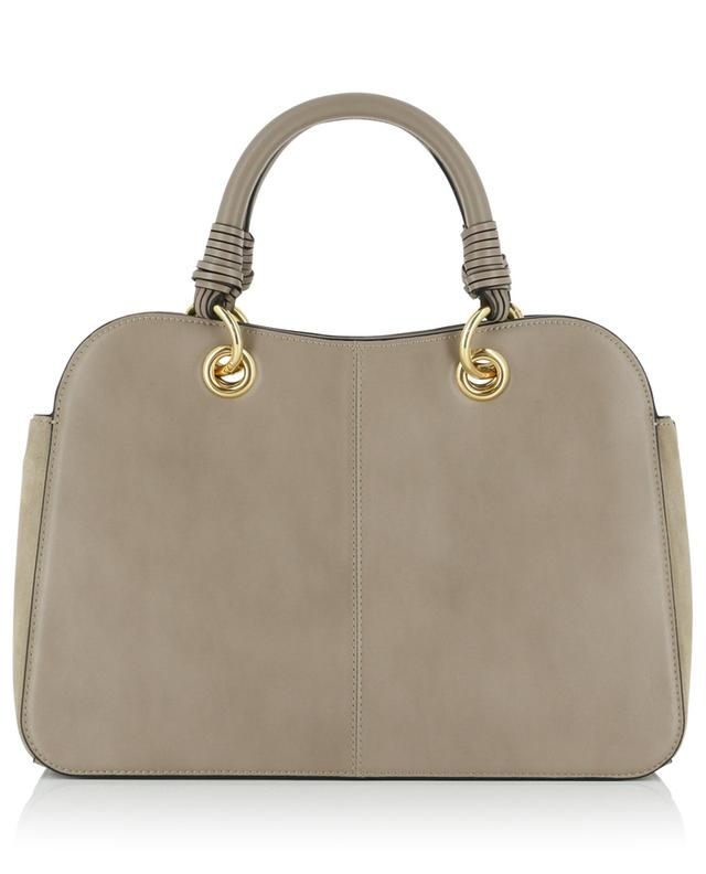 Tilda smooth leather and suede handbag SEE BY CHLOE
