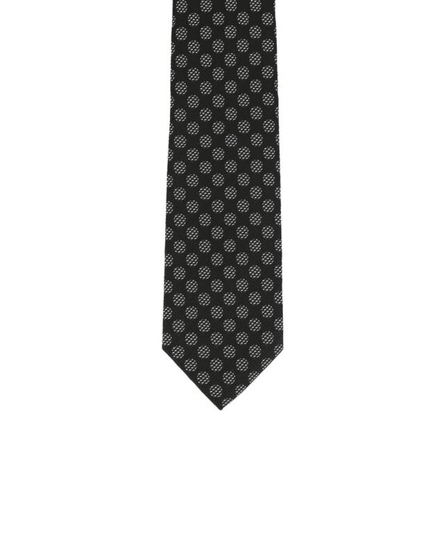 Printed silk tie TOM FORD
