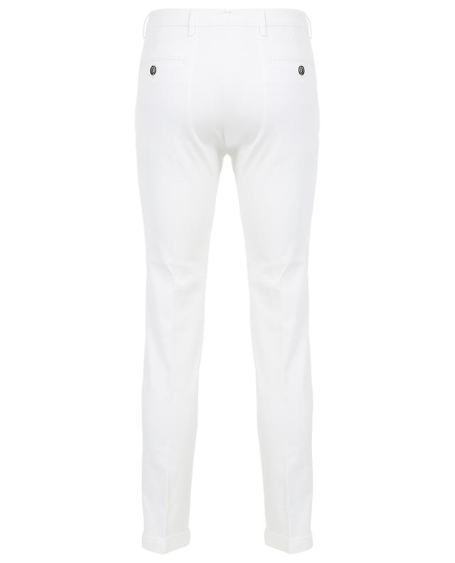 Tapered cotton stretch trousers B SETTECENTO