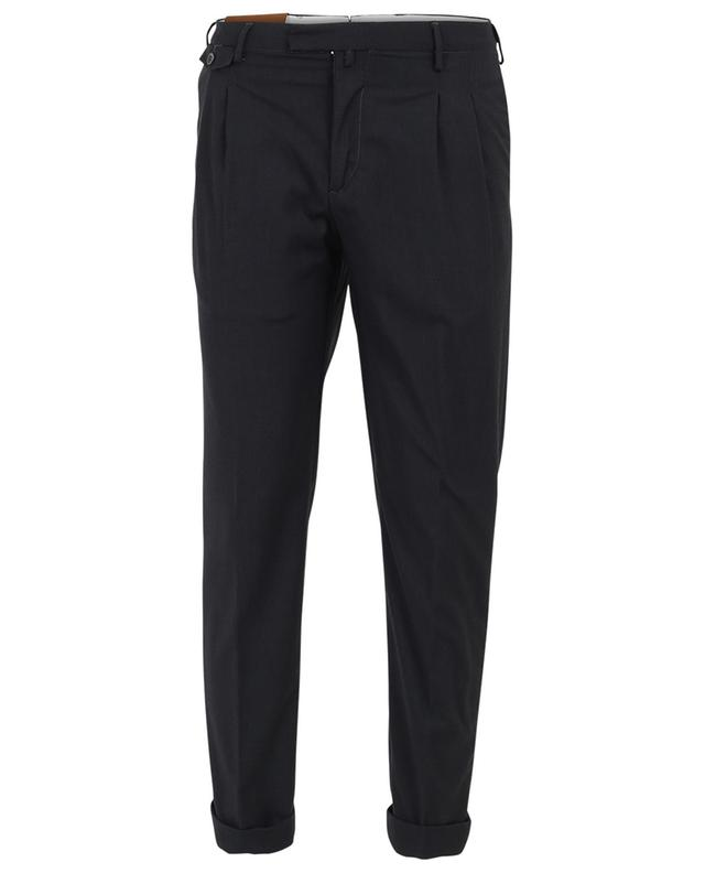 Tapered wool blend trousers B SETTECENTO