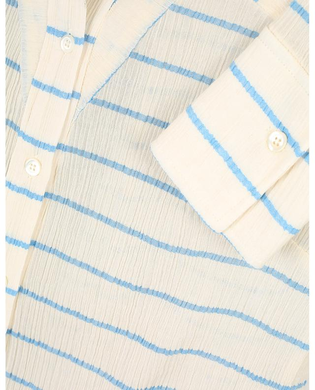 Striped crinkled cotton skirt VICTORIA BY VICTORIA BECKHAM