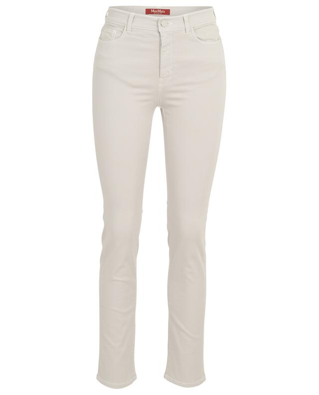 Ebrien slim fit cotton blend trousers MAXMARA STUDIO