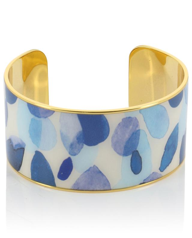 Eden 3 cm golden brass cuff BANGLE UP