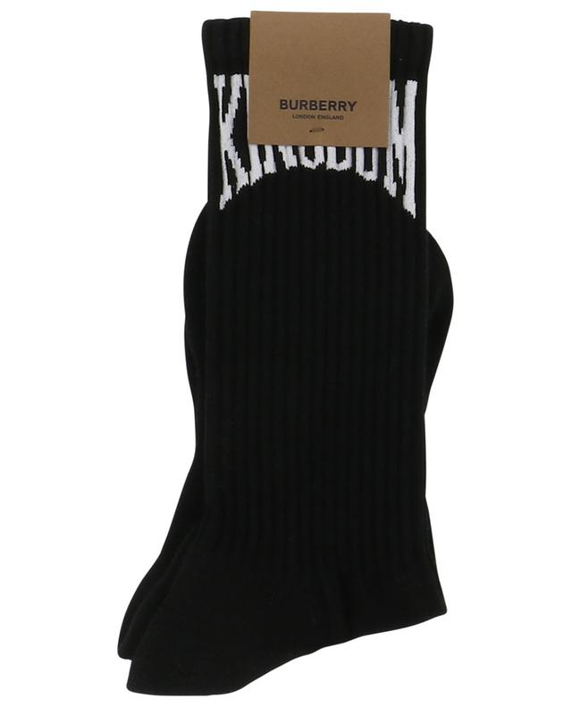 Kingdom cotton blend socks BURBERRY
