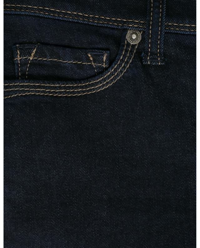 Piper Short cropped dark washed slim fit jeans CAMBIO