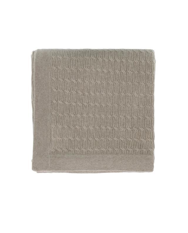 bon genie plaid en cachemire torsad beige a17858 bongenie grieder. Black Bedroom Furniture Sets. Home Design Ideas