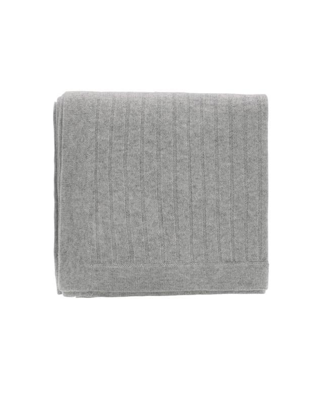 bon genie plaid en cachemire c tel gris a17859 bongenie grieder. Black Bedroom Furniture Sets. Home Design Ideas