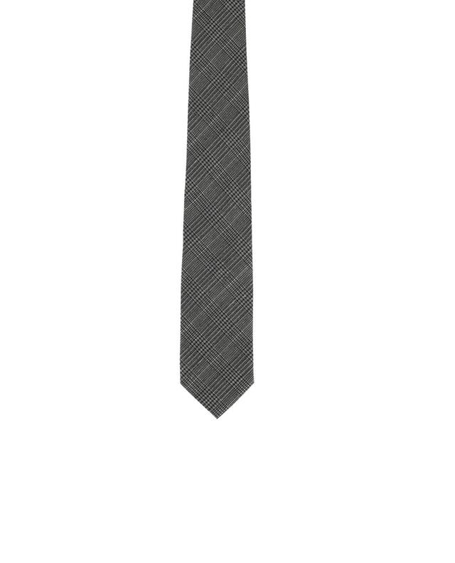 Silk and wool tie TOM FORD
