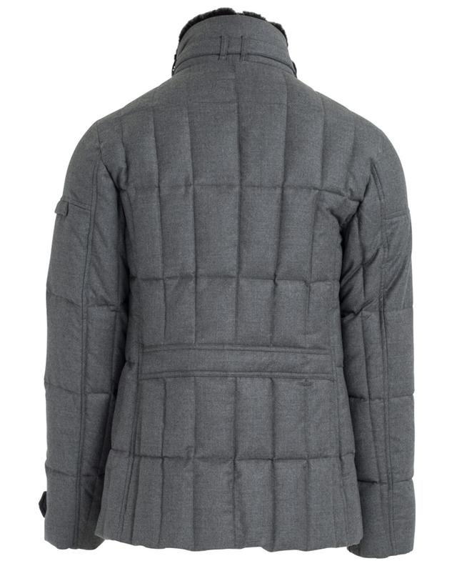Quilted virgin wool and cashmere jacket MOORER