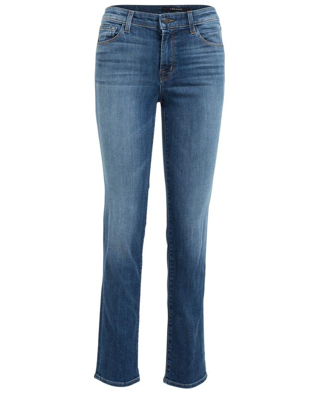J brand jeans in gerader passform amelia blau a24856