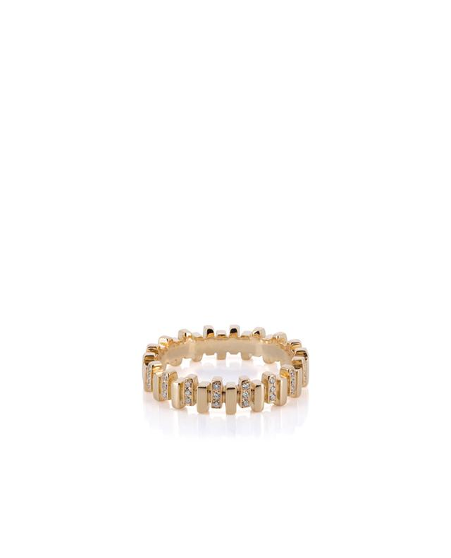 Rose gold and diamonds ring MISANELLI