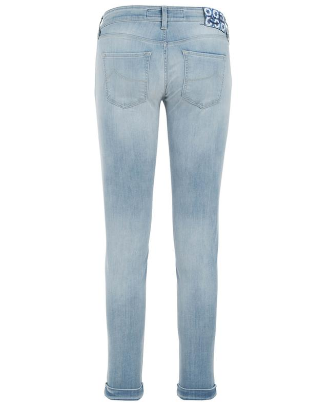 Cotton blend skinny jeans JACOB COHEN