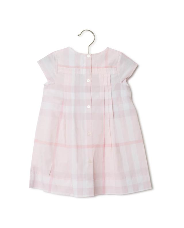 Burberry check pattern bloomer and dress eggshell a27762