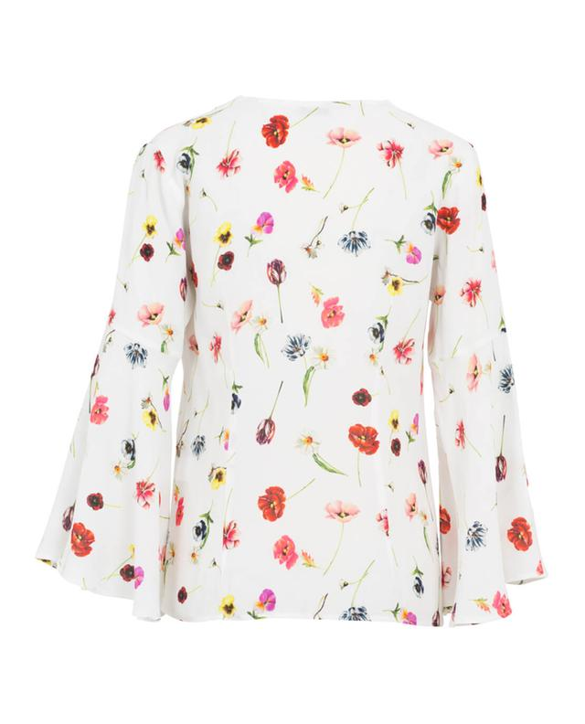 Camicettasnob floral pattern blouse white a28731