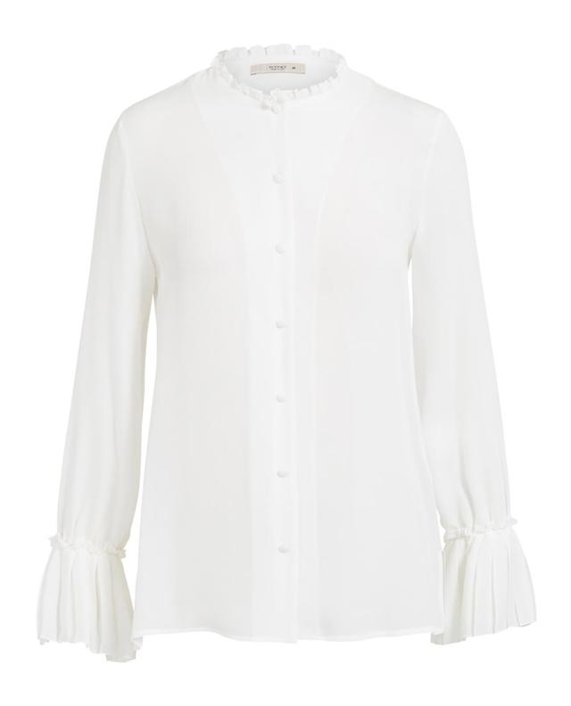 Etro silk shirt white A28992-BLAN
