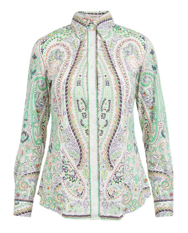 Etro printed cotton shirt multi coloured 1 A29013-MULT