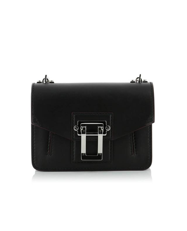 Proenza schouler hava mini leather bag black a29088