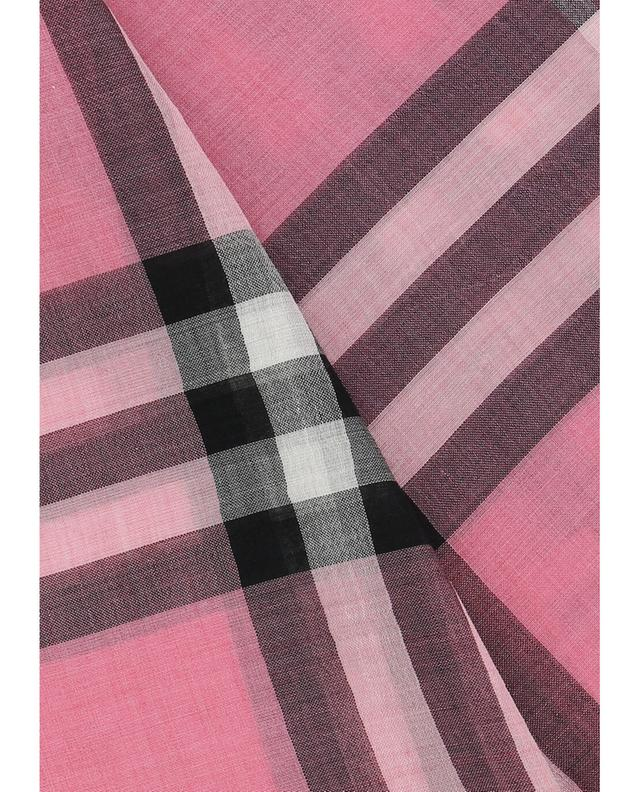 Wool and silk scarf BURBERRY