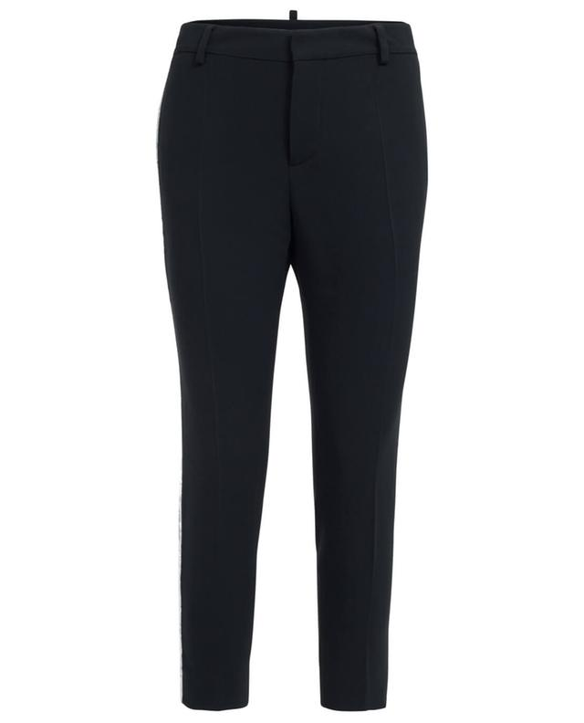 Dsquared2 tapered-leg trousers black A29859-NOIR