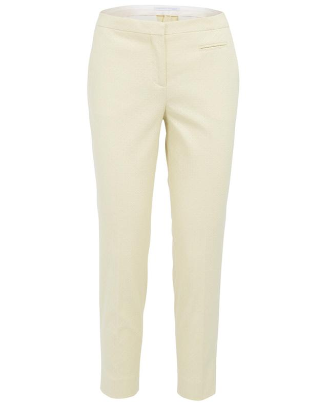Fabiana filippi cotton trousers yellow A30019-JAUN