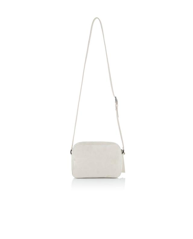 Fabiana filippi suede crossbody bag beige a30085