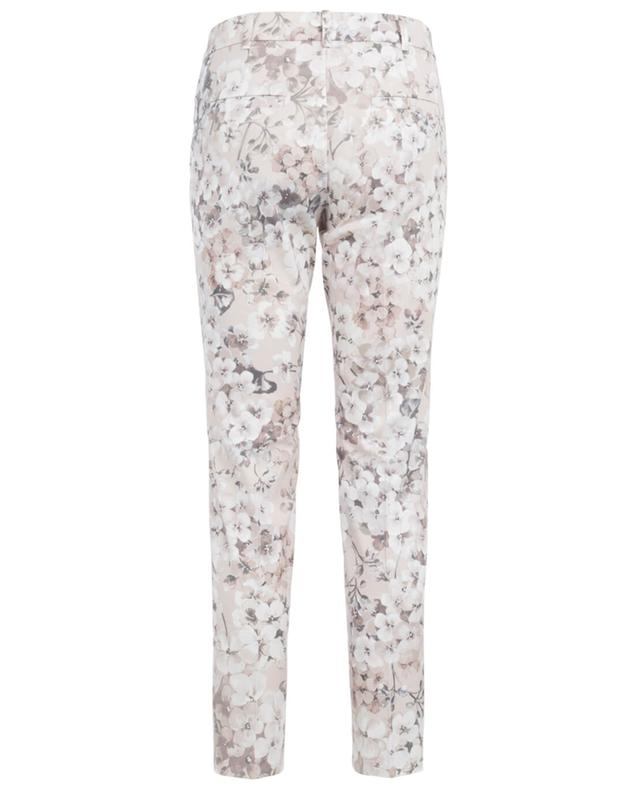 Cambio cotton blend trousers pink a30318