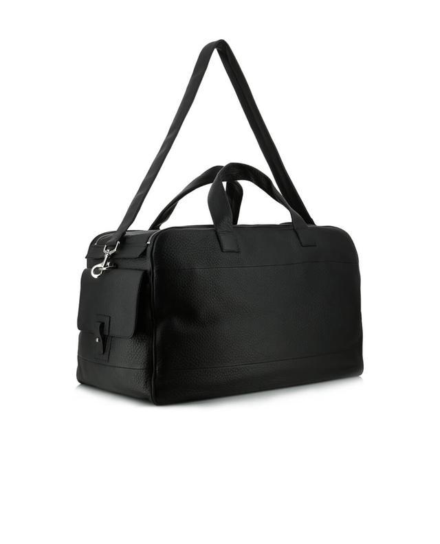 orciani grand sac de voyage en cuir noir a30400 bongenie. Black Bedroom Furniture Sets. Home Design Ideas