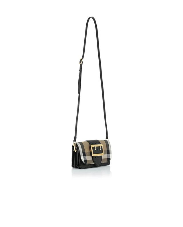 Burberry the small buckle bag shoulder bag black a30484