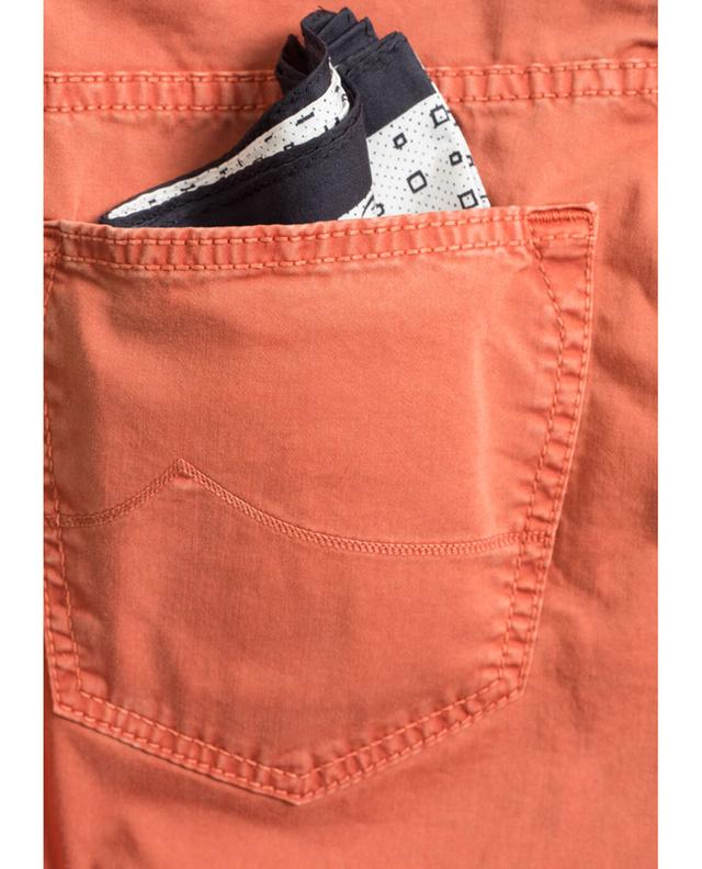 Jacob cohen pantalon slim en coton orangeclair a31399