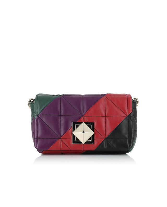 Sonia rykiel le copain quilted leather shoulder bag multicoloured1
