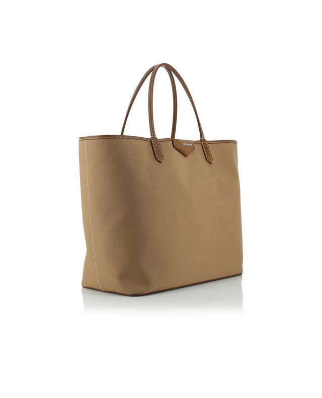 Givenchy antigona shopping canvas and leather tote beige