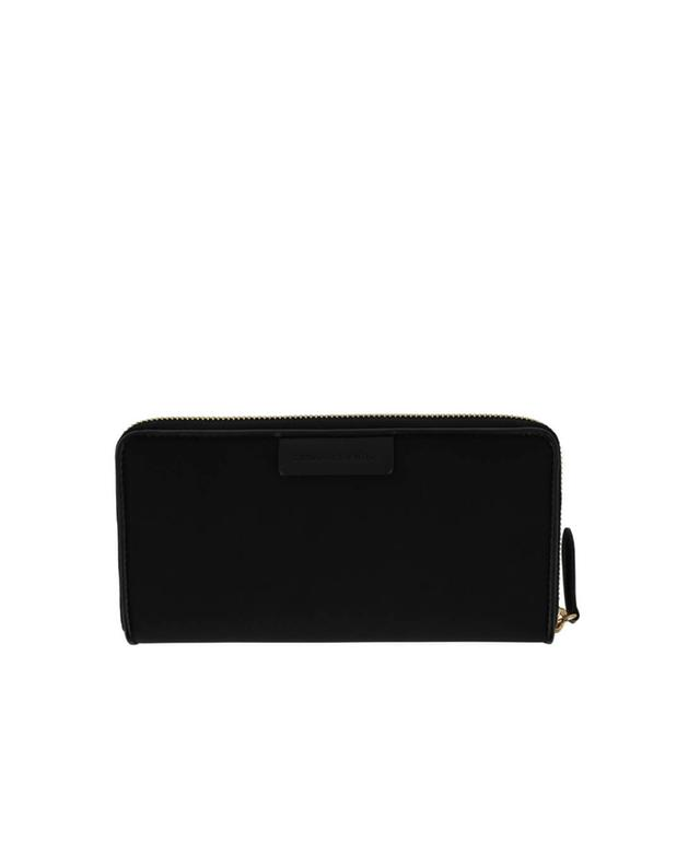 Stella mccartney nylon and faux leather clutch black a32032