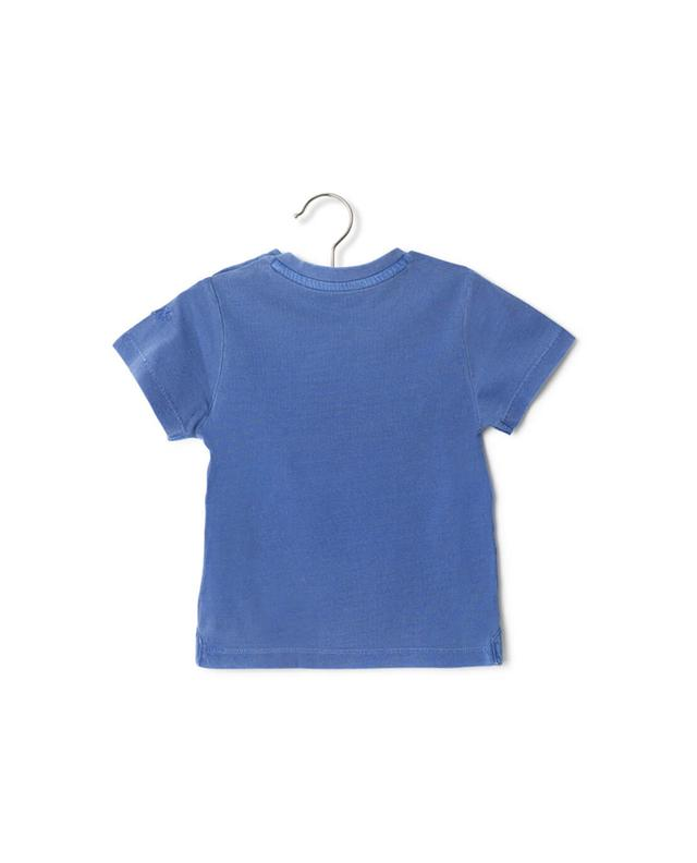 Zadig voltaire printed cotton t-shirt blue a32104
