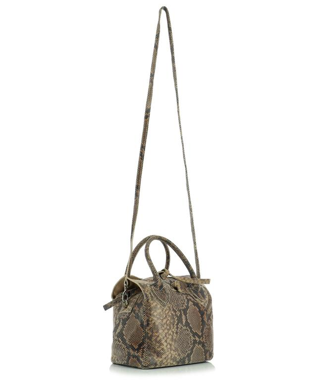 Let&her sac en cuir beige a32369