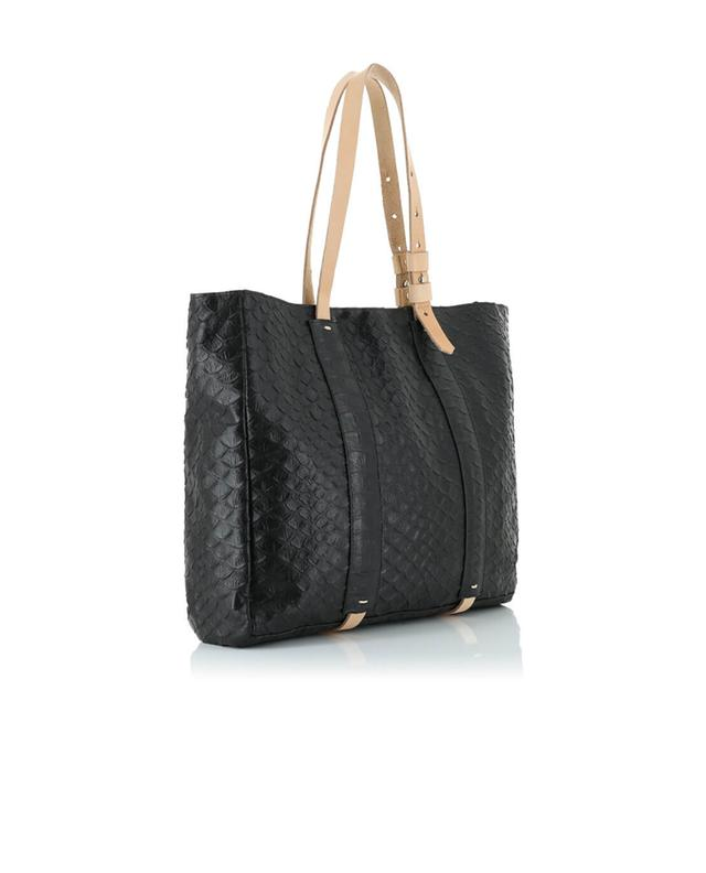 Let&her leather tote black a32371