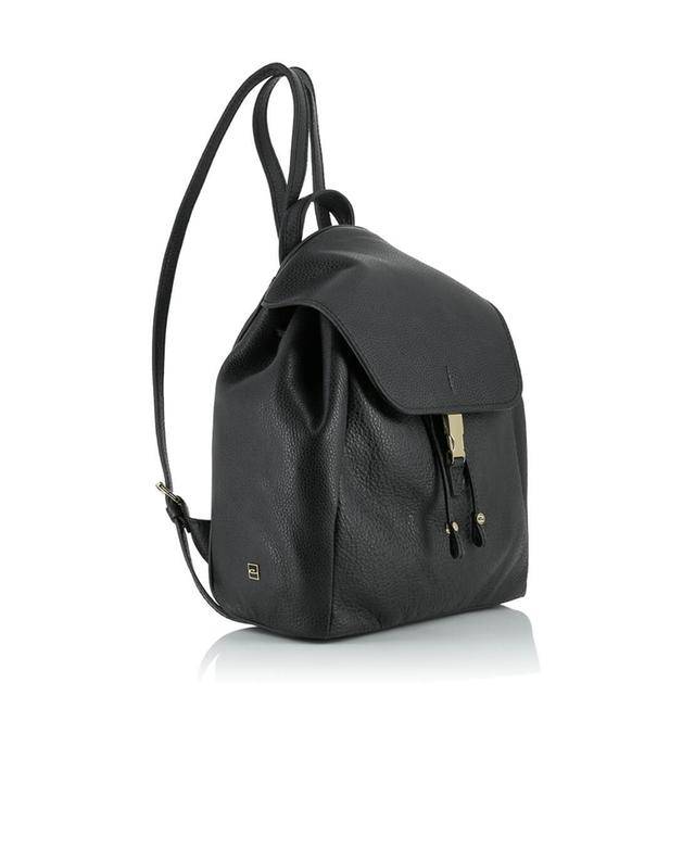 Leather backpack GIANNI CHIARINI