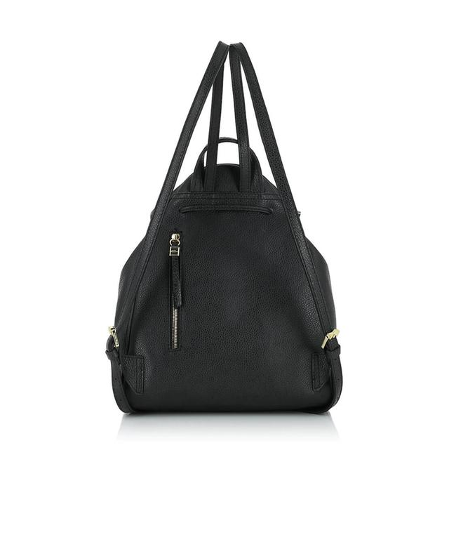 Gianni chiarini leather backpack black a32516