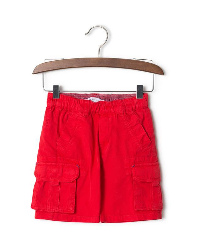 Little marc jacobs cotton cargo shorts red a32838