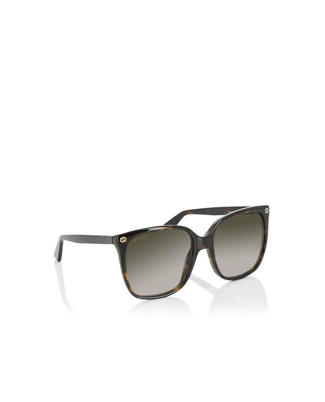 Gucci round-frame sunglasses brown a35967