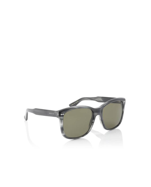 Gucci square-frame sunglasses anthracite a35979