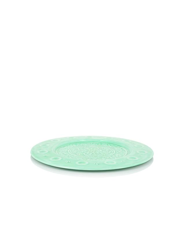 Hoff interieur portofino set of 4 enamelled metal plates for Hoff interieur products