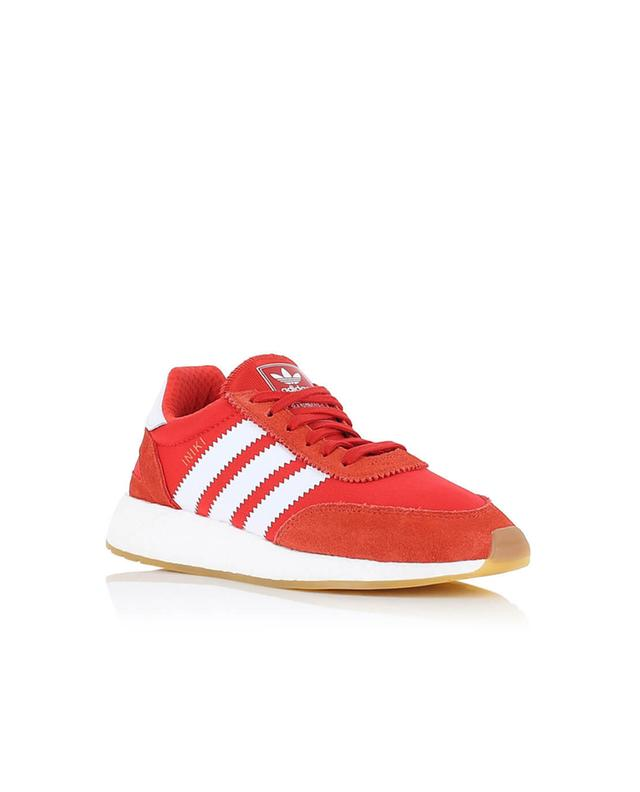Adidas originals iniki runner fabric and suede sneakers red