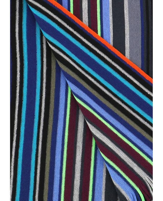 Lacey Stripe merino wool scarf PAUL SMITH
