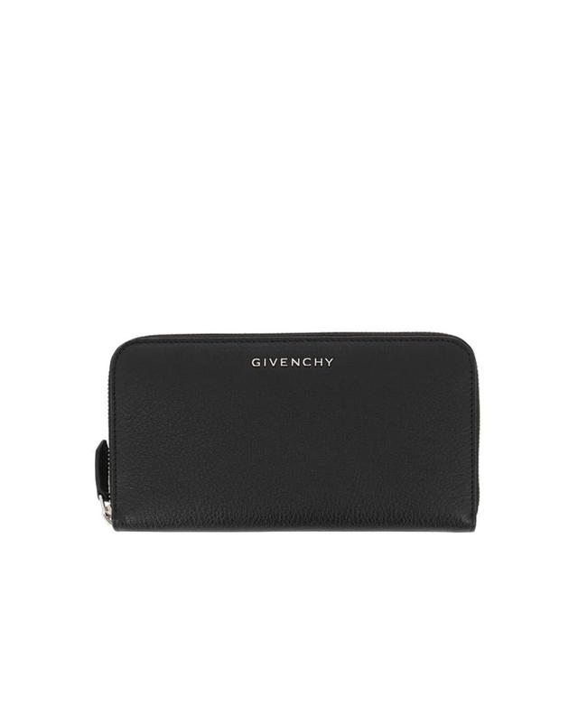 Givenchy grained leather wallet black a40621