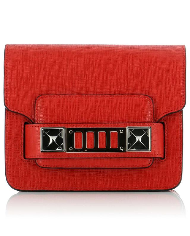 Proenza schouler ps1 1 leather crossbody bag red a40654